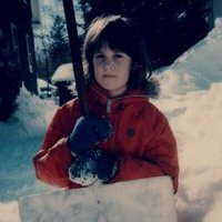My 7 year old self in the Blizzard of '78